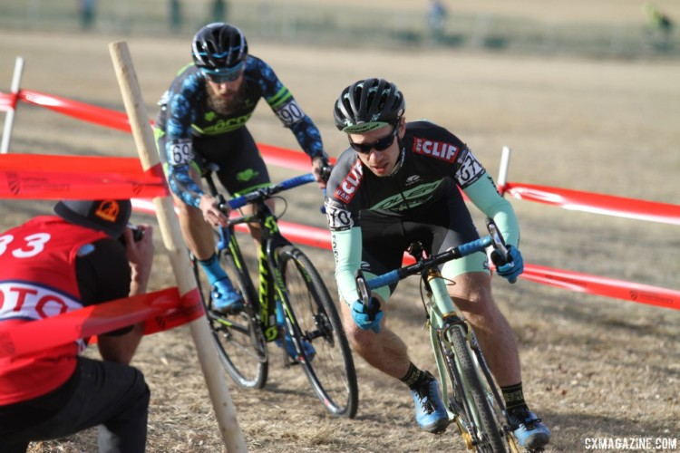 Max Judelson was one of the strong riders in the field. Men's Singlespeed. 2018 Cyclocross National Championships. © D. Mable/ Cyclocross Magazine