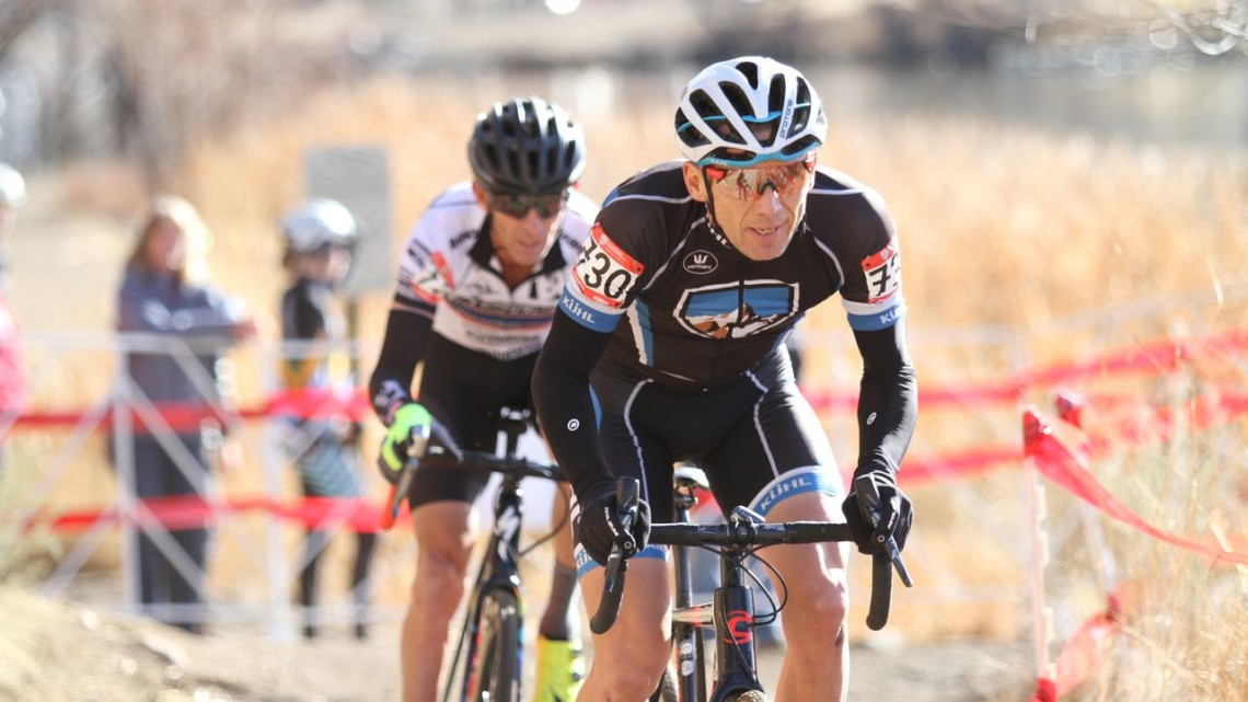 Christoph Heinrich won the Masters 50-54 title in Reno. 2018 Cyclocross National Championships, Masters 50-54. © D. Mable/ Cyclocross Magazine