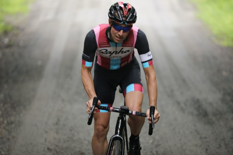 Jeremy Powers will be attending both days of the Ossian Giant Gravel Grinder. photo: Meg MacMahon