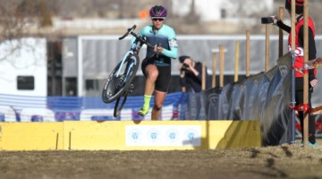 Will we see Meredith Miller racing high-level singlespeed again soon? Singlespeed Women. 2018 Cyclocross National Championships. © D. Mable/ Cyclocross Magazine