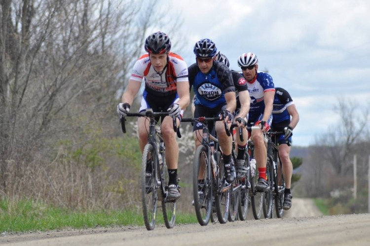 Registration is now open for the Ossian Giant Gravel Grinder. photo: Marnie Soom