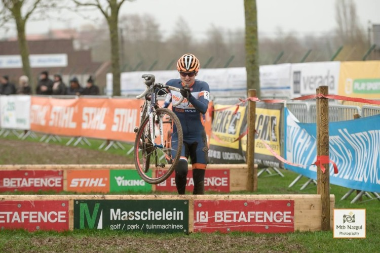 Coogan Cisek got a start contract and a coffee maker at Otegem. photo: Kristel Van Gilst