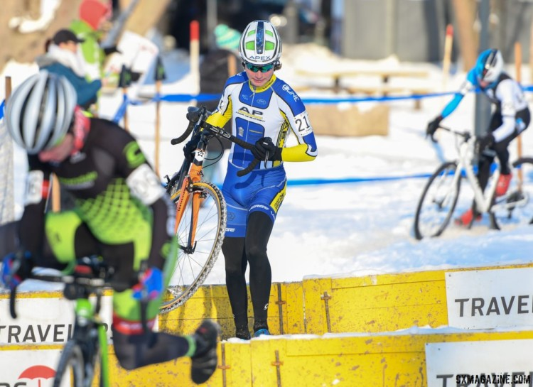 Greg Gunsalus finished eighth in Hartford. © A. Yee / Cyclocross Magazine