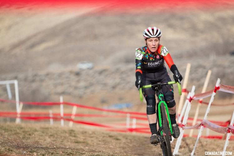 Masters 60+. 2018 Cyclocross National Championships. © A. Yee / Cyclocross Magazine