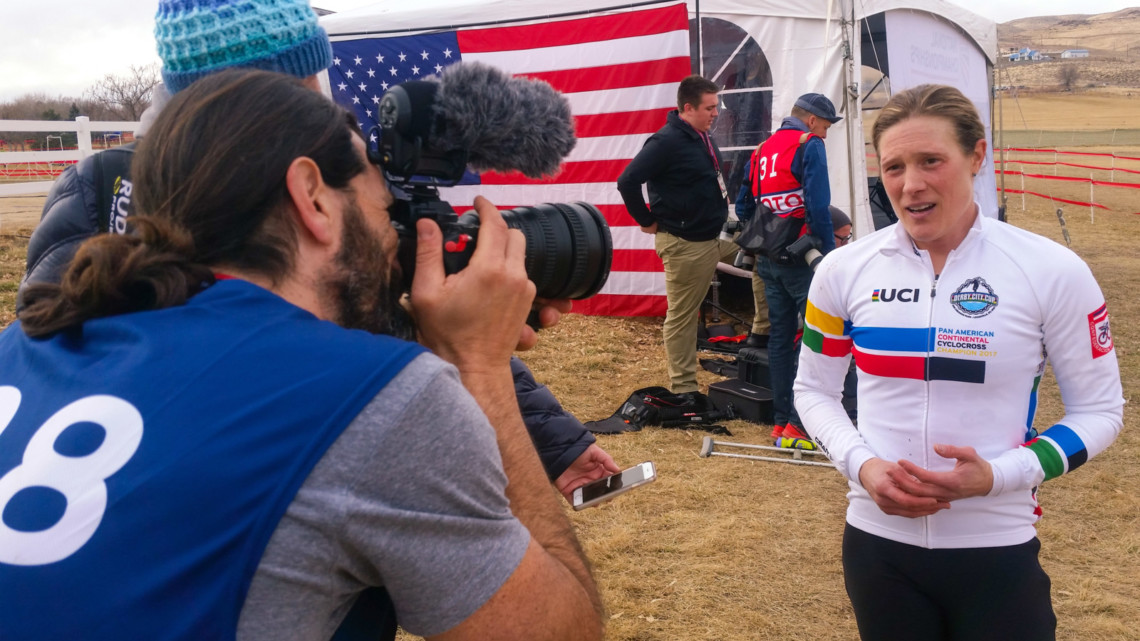 Bill Schieken Crosshairs TV - 2018 Reno Cyclocross Nationals