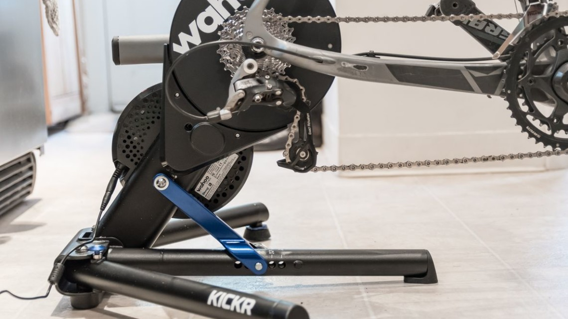The Wahoo Kickr Direct-Drive Smart Trainer. © C. Lee / Cyclocross Magazine