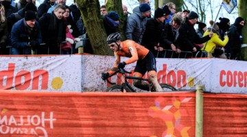 Sieben Wouters finished seventh for the Dutch team. U23 Men. 2018 UCI Cyclocross World Championships, Valkenburg-Limburg, The Netherlands. © Gavin Gould / Cyclocross Magazine