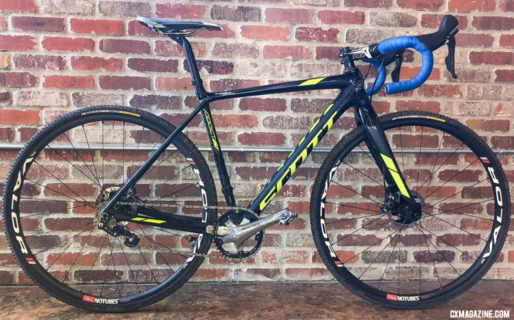 Jake Wells' 2018 Nationals-Winning Singlespeed Scott Addict CX.