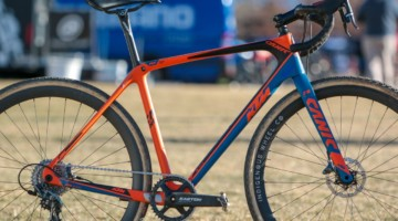 Monica Lloyd's Masters 40-44 Title-winning KTM Canic cyclocross bike. 2018 Cyclocross National Championships. © A. Yee / Cyclocross Magazine