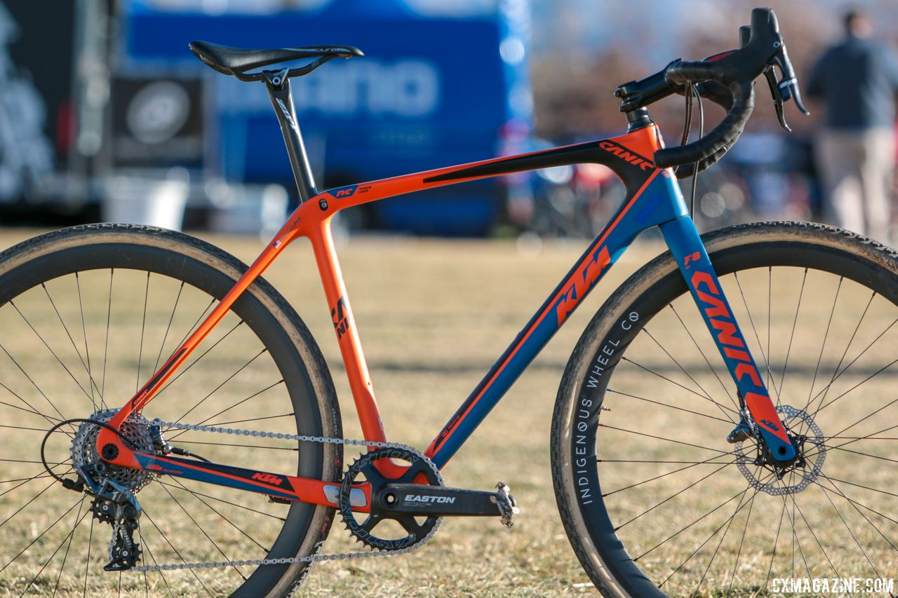 monica lloyd 39 s 2018 cyclocross nationals winning ktm canic cxc. Black Bedroom Furniture Sets. Home Design Ideas