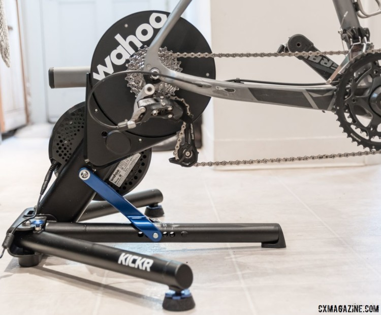 The $1,200 Wahoo Kickr Direct-Drive Smart Trainer. © C. Lee / Cyclocross Magazine