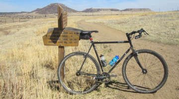 Jon Severson's second Surly Cross Check singlespeed monster cross. photo: courtesy