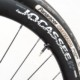 The tubeless-ready carbon wheels come with Boyd valves and patent-pending wingnuts. Boyd Jocassee 650b Carbon Tubeless Gravel Wheelset. © C. Lee / Cyclocross Magazine