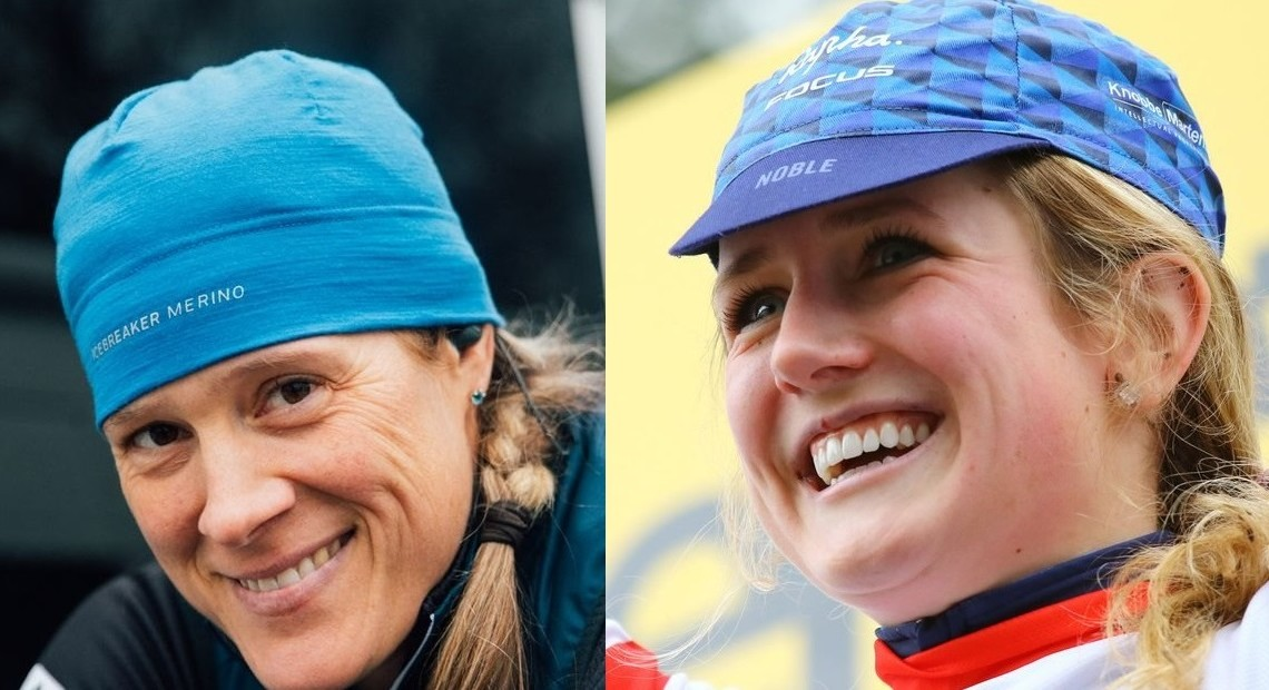 The 2018 CX Madness bracket is now down to Katie Compton and Ellen Noble. © J. Curtes / C. Jobb / Cyclocross Magazine