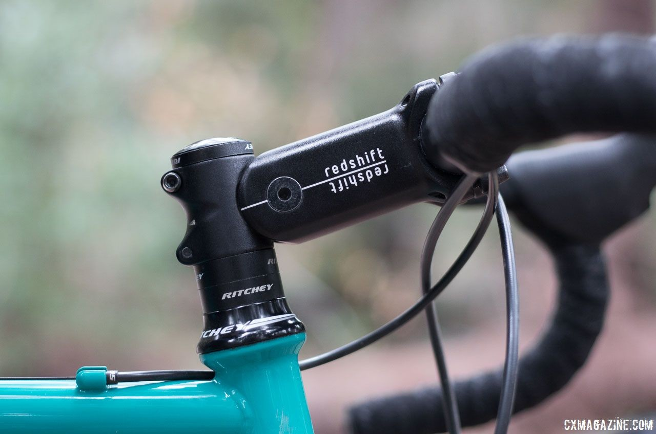 The Redshift Sports ShockStop stem was the company's first release. Redshift Sports StopShock suspension stem. © Cyclocross Magazine