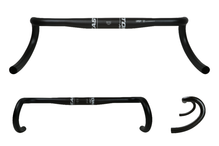 Easton AX series handlebar with 16 degrees of flare. photo: courtesy