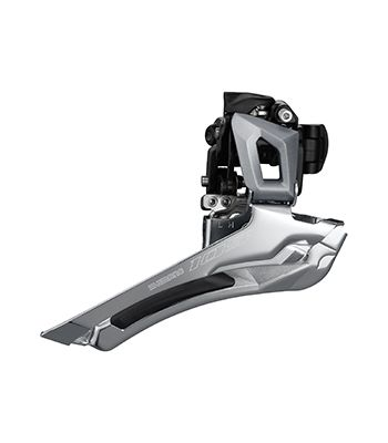 Shimano has shortened the cage on the 105 derailleur to reduce interference with wide tires. 2018-2019 Shimano 105 R7000 Groupset. photo: Shimano