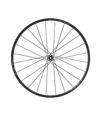 The new 105 groupset includes a 12mm thru-axle alloy tubeless wheelset. 2018-2019 Shimano 105 R7000 Groupset. photo: Shimano