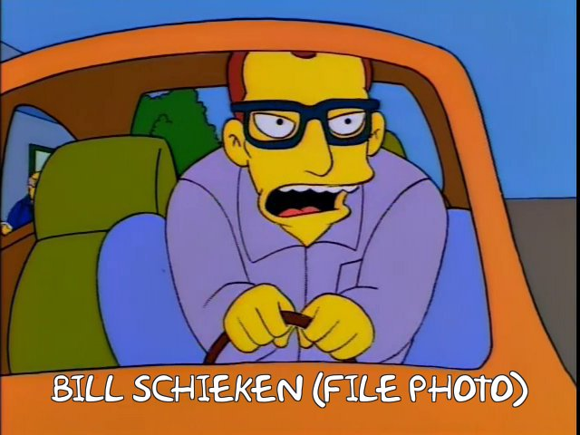 Bill Schieken file photo. photo: frinkiac.com