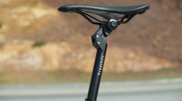Redshift Sports is launching its new Suspension Seatpost. Redshift Sports ShockStop Suspension Seatpost. photo: Redshift Sports