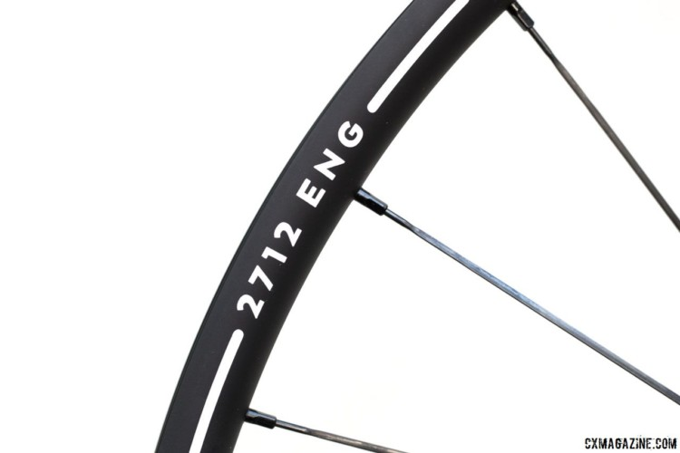 The AMX29 is only 20mm deep, but it is very wide with a 30mm external width. Alto Cycling's alloy AMX29 cyclocross / gravel disc brake wheels. © Cyclocross Magazine