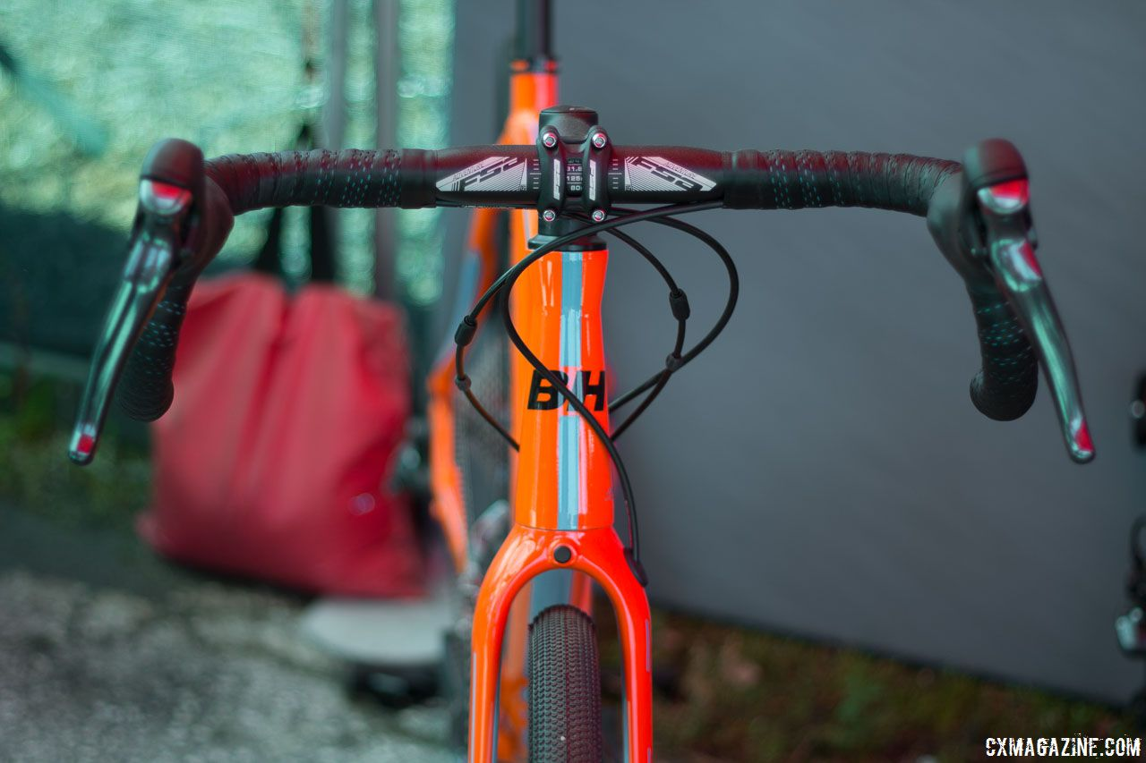 a53871b5a5f The Gravel X is ready for adventure with a flared FSA compact handlebar. BH  Bikes