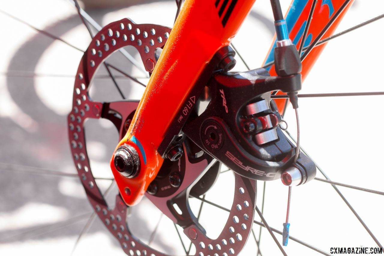 If you have questions about disc brakes, hopefully these mechanics have answers for you. BH Bikes Alloy Gravel X Bike. 2018 Sea Otter Classic. © Cyclocross Magazine
