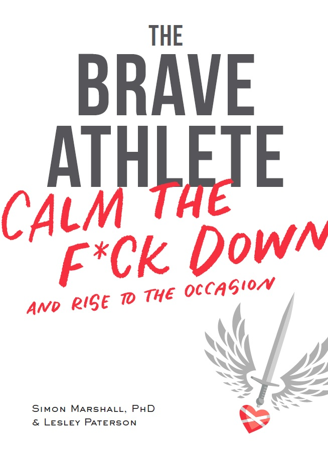The Brave Athlete is available from Velopress. photo: courtesy