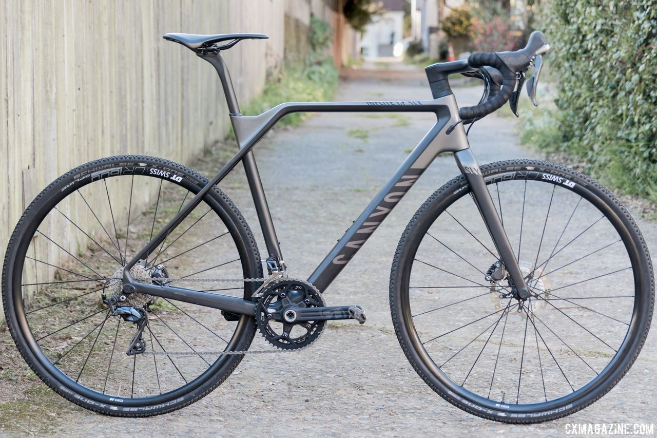 The $3,300 carbon Canyon Inflite CF SLX 9.0 Cyclocross Bike. © C. Lee / Cyclocross Magazine