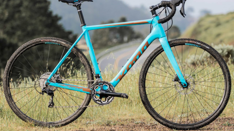 The $3,000 2018 Kona Major Jake cyclocross bike with a Shimano 105 groupset. © C. Lee / Cyclocross Magazine