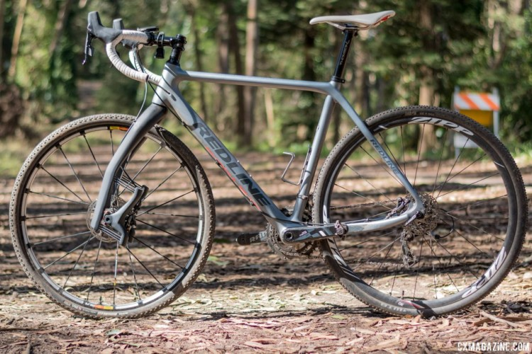 We were able to install the Grit on our bike and take the low-maintenance fork out on gravel and mixed terrain rides. Lauf Grit suspension fork. © C. Lee / Cyclocross Magazine