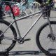 The Merlin Adventure bike comes as a $6,000 complete build with the $750 front fork. Merlin Titanium Adventure Bike. 2018 Sea Otter Classic. © Cyclocross Magazine