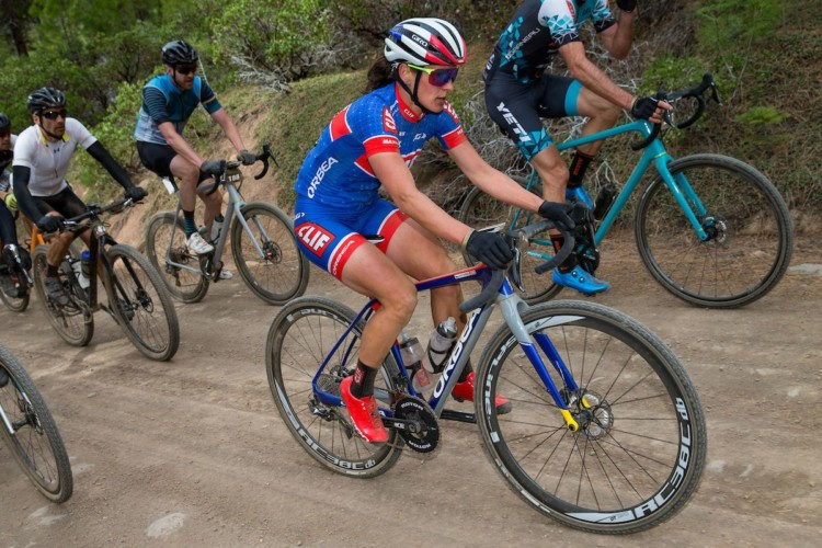 Of course Katerina Nash participated in her hometown race put on by her European racing mate. 2018 Sagan Dirt Fondo. © Jonathan Devich / epicimages.us