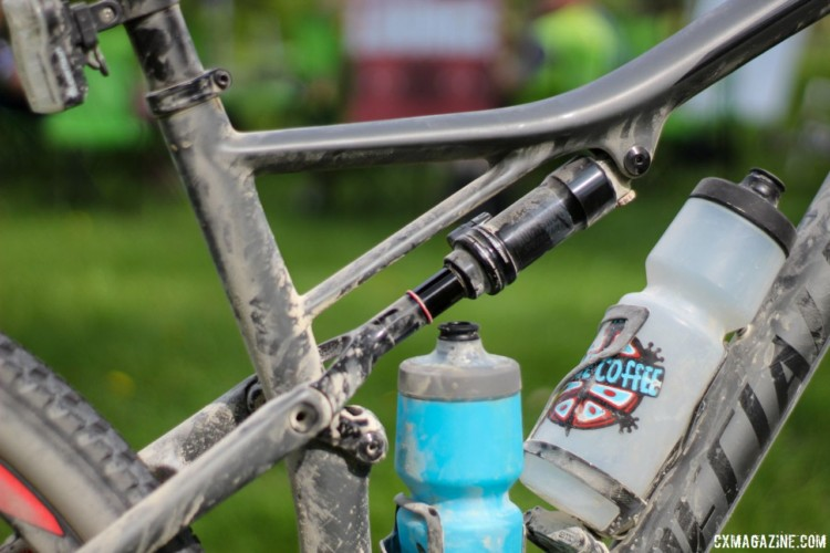 Full suspension for gravel is already here for Rob Chose on his Specialized Epic XC bike. Rob Chose's Almanzo 100 Specialized Epic. © Cyclocross Magazine