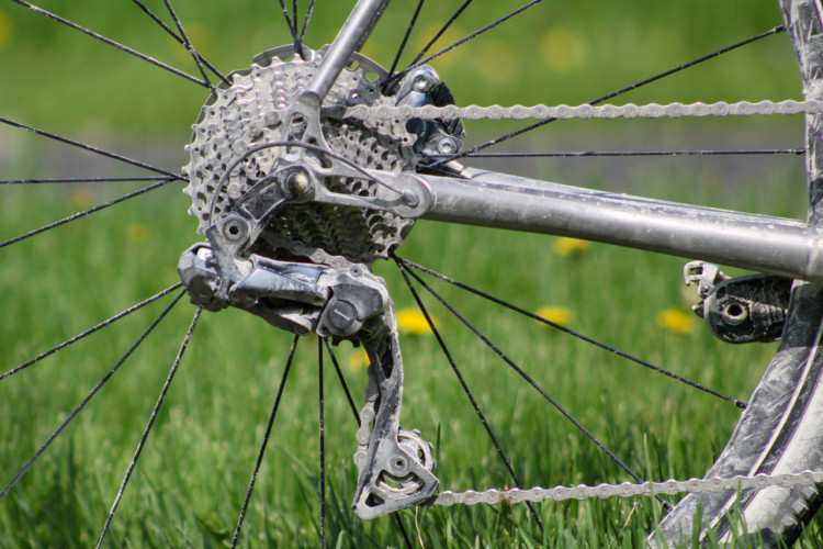 Shimano's new Ultegra RX derailleur comes in mechanical and Di2 models. We rode the electronic shifting version at Almanzo. 2018 Almanzo 100 Gravel Race. © Cyclocross Magazine