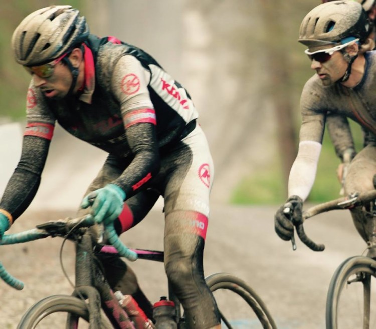 Kerry Werner made his Mudslinger debut and took the win at Finger Lakes. 2018 Finger Lakes Gravel Grinder. photo: Tony Sylor