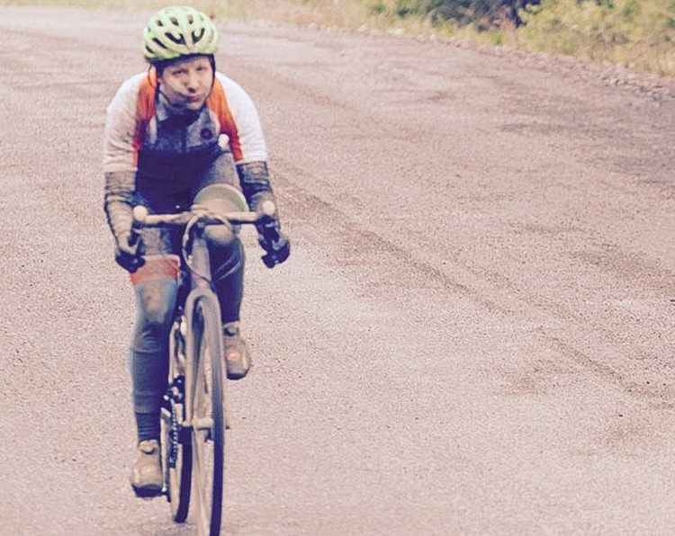 Rachel Andrews of Once Again Racing won the Elite Series with wins in race 1 and 2 and a 3rd place finish in race 3. 2018 Finger Lakes Gravel Grinder. photo: Tony Sylor