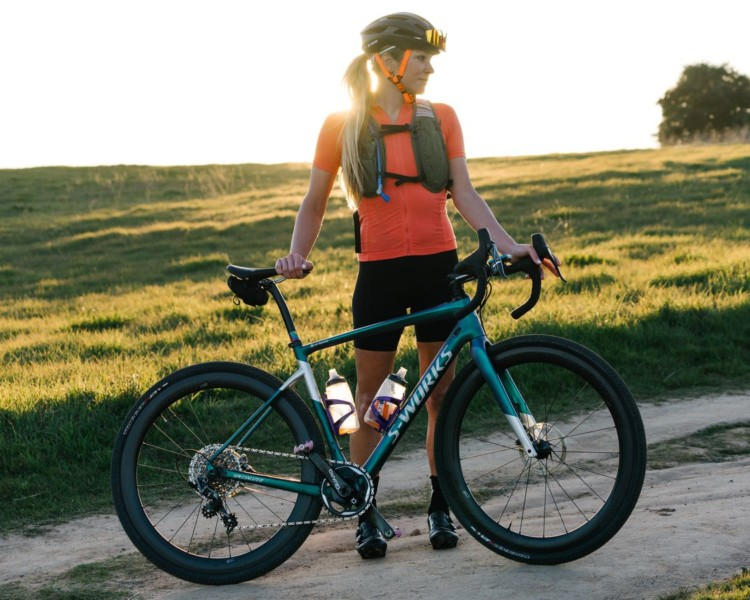 Alison Tetrick will be riding a Specialized Diverge at the 2018 Dirty Kanza 200. © Cody Mann (Flintlock Photography)