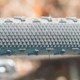 Challenge's Gravel Grinder TLR Tubeless tire is fast rolling tread with big, grippy side knobs that take quite a bit of lean to engage. © Cyclocross Magazine