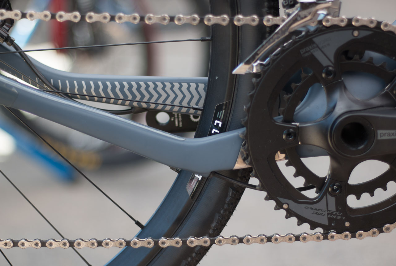 4f03694db23 Similar to other bikes we have seen, the Search XR adopts an offset  chainstay for