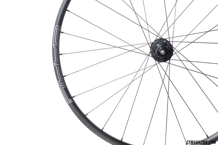 The Stan's NoTubes Grail CB7 Pro carbon tubeless wheelset for gravel and cx are an easy way to shed a pound or more off a bike, if you can afford it. © Cyclocross Magazine
