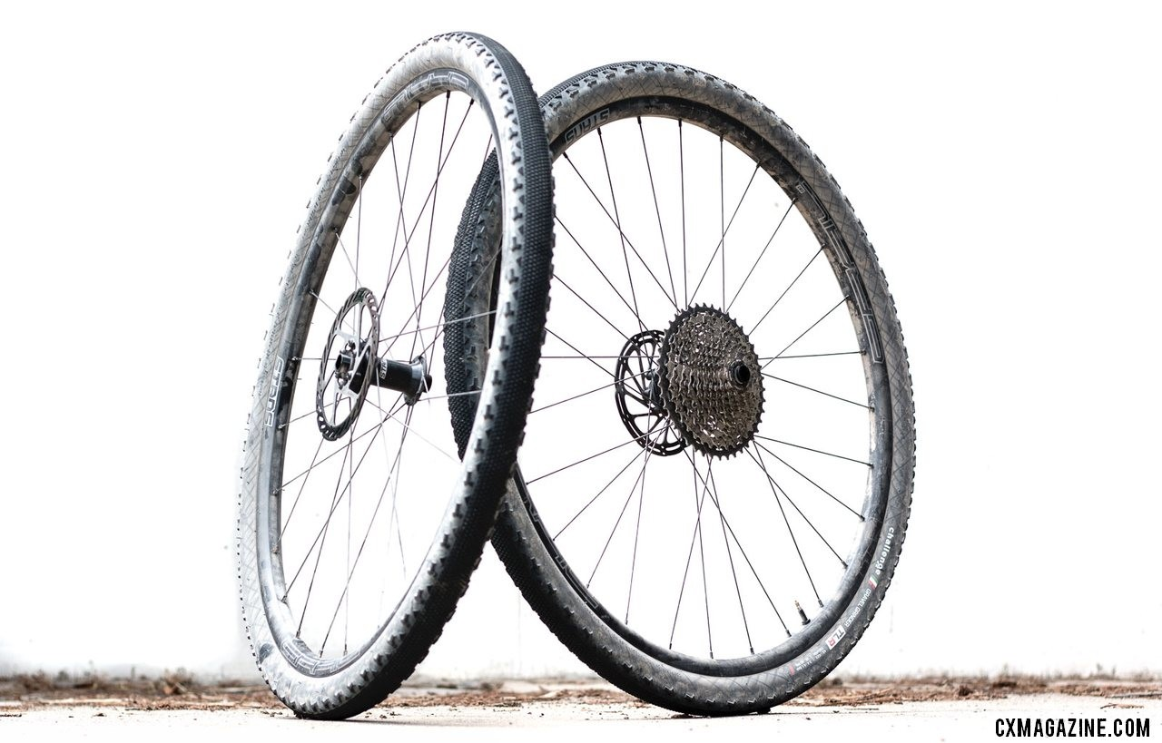 The Stan's Grail CB7 is an ultralight option for tubeless cyclocross and gravel. © Cyclocross Magazine