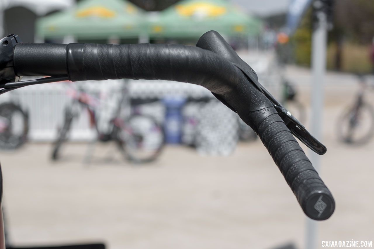 Origin8's dirt drop Gary bar line adds flare to your monster cross build. 2018 Sea Otter Classic cyclocross and gravel new products. © Cyclocross Magazine