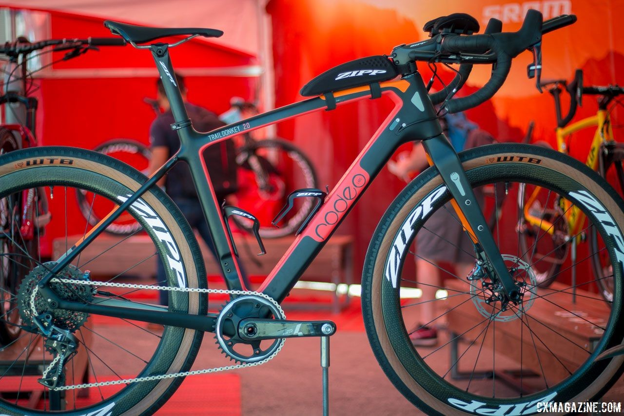 Last year, we saw the Traildonkey 2.0 with aero bars. Rodeo Labs' Traildonkey 2.0, 2018 Sea Otter Classic. © Cyclocross Magazine