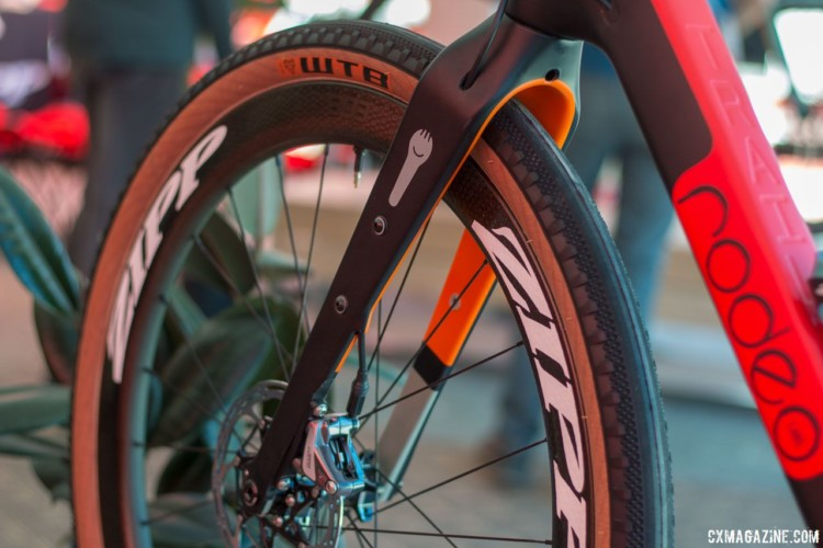 Rodeo's Spork can accept front racks and a 700c x 56mm tire. © Cyclocross Magazine