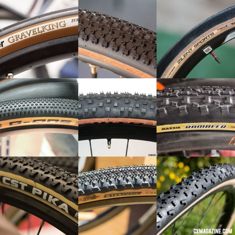 Tanwall cyclocross and gravel tires. © Cyclocross Magazine