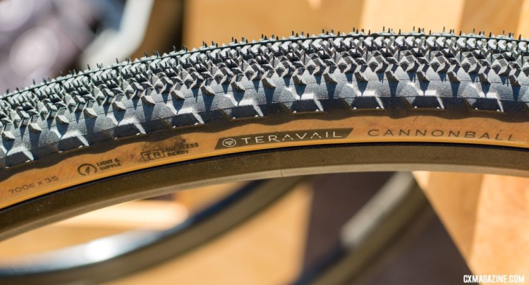 Tanwall gravel and cyclocross tires. © Cyclocross Magazine