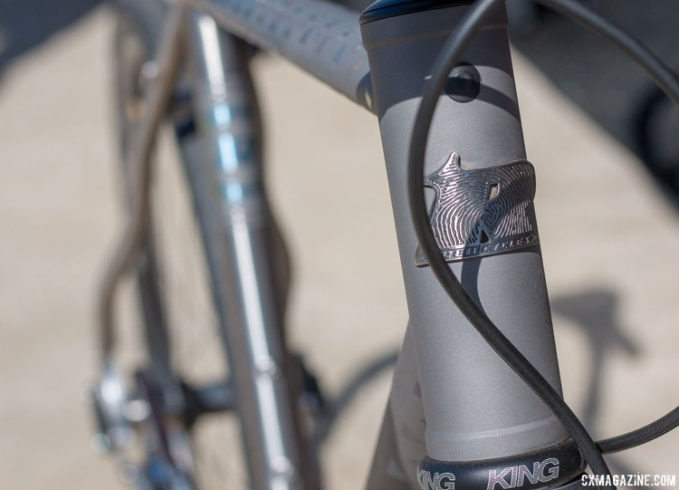 Portland based Ren Cycles builds road and cyclocross bikes using titanium. © Cyclocross Magazine