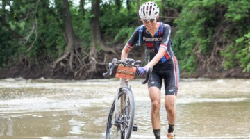 Kae Takeshita headed to Dirty Kanza in 2018 looking to turn around some bad luck. 2018 Dirty Kanza 200. © Cyclocross Magazine