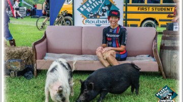 Kae Takeshita traveled to West Virginia from Chicago and came home with a win. 2018 Hilly Billy Roubaix. © Mike Briggs